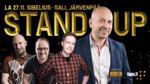 Järvenpää-talon Stand Up Show PERUTTU!