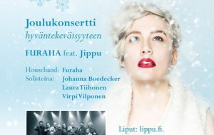 Arkin joulukonsertti hyväntekeväisyyteen feat Jippu