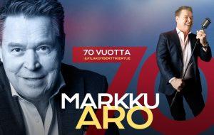 Markku Aro 70 vuotta juhlakiertue