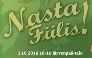 Nasta Fiilis -hyvinvointimessut klo 10 - 16