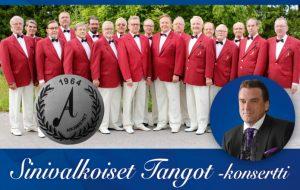 Sinivalkoiset tangot-konsertti (Huom! Uusi ajankohta. Aiemmin ostetut liput käyvät sellaisenaan)