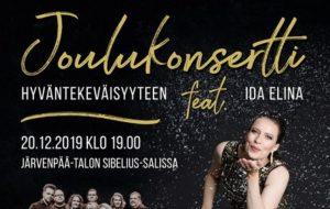 Arkin joulukonsertti hyväntekeväisyyteen feat. Ida Elina
