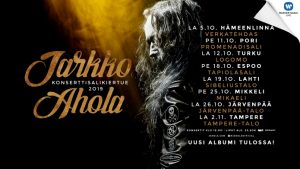 Jarkko Ahola – konserttisalikiertue 2019