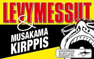 LEVYMESSUT & MUSAKAMA KIRPPIS
