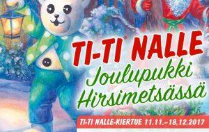 Ti-Ti Nalle: Joulupukki Hirsimetsässä