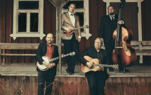 Jussi Syren And The Groundbreakers & The Lovematchesn The Lovematches - Bluegrass-konsertti